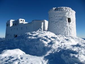 Gmach Obserwatorium zimą, 2009 r.