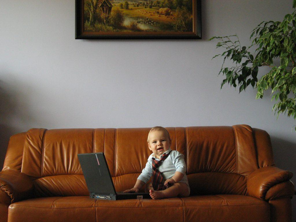 Na zdjęciu Staś, kiedy był mały… Fot. J. Gocłowska-Bolek.